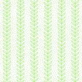Green Leaf seamless pattern. Simple Nature fresh background. Vector illustration royalty free illustration