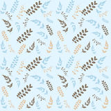 Green leaf seamless pattern for summer and spring Royalty Free Stock Photos