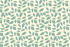 Green leaf seamless pattern Royalty Free Stock Photo