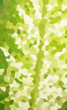Green leaf texture. In crystallize filter Royalty Free Stock Image