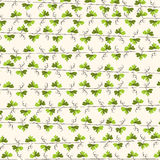 Green leaf vine repeat background. Stock Photos