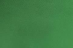 Green leather Royalty Free Stock Photography