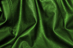 Green leather background Royalty Free Stock Image