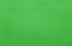 Green leather background Stock Photos
