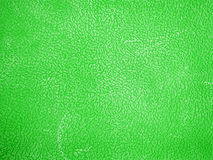 Green leather background or texture Stock Photos