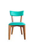 Green leather chair Royalty Free Stock Photo