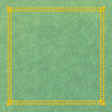 Green leather cover Royalty Free Stock Photos