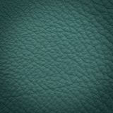 Green leather macro shot Royalty Free Stock Photography