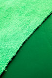 Green leather and suede  Royalty Free Stock Photography
