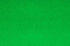 Green leather texture Royalty Free Stock Photos