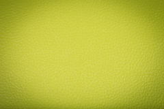 Green leather texture Stock Photography