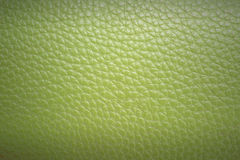Green leather texture and background Royalty Free Stock Images