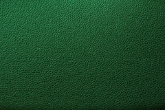 Green leather texture background for design. Royalty Free Stock Image