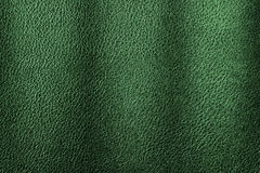 Green leather texture background for design. Royalty Free Stock Images