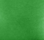 Green leather texture background surface. Stock Images
