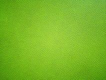 Green leather texture Stock Photos