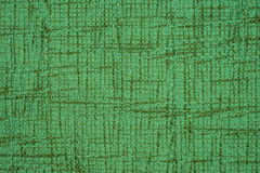 Green leather texture closeup Stock Photo