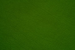 Green leather texture closeup, Royalty Free Stock Image