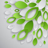 Green leaves abstract background. Stock Photo
