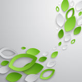 Green leaves abstract background. Royalty Free Stock Photo