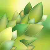 Green leaves abstract. EPS 10 Stock Photo
