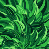 Green leaves abstract vector Stock Photos