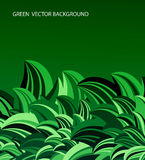 Green leaves abstract vector Royalty Free Stock Photo