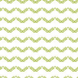 Green leaves chevron seamless pattern background Royalty Free Stock Photo