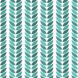Green leaves geometric lie exactly on a light background. Seamless background, texture, vector illustration. You can use for paper, textiles, packaging Stock Images