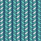 Green leaves geometric located on a dark blue background, seamless background, texture, vector illustration. Stock Image