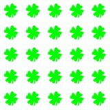 Green leaves isolated on white background repetition cards backgrounds. Isolated repeat decoration pattern vector illustration