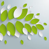 Green Leaves Limb Background PiAd Royalty Free Stock Images
