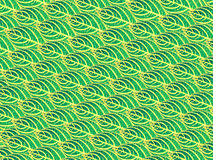 Green leaves pattern, abstract nature texture background. Stock Photos