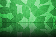 Green Leaves Pattern wallpaper Stock Photos
