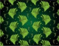 Green leaves. petrikovsky ornament Stock Photo