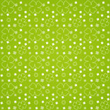 Green Leaves Seamless Pattern. A Vector Green Leaves Seamless Pattern Royalty Free Stock Images
