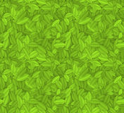 Green leaves. Seamless green leaves texture. EPS10 vector background Stock Photo