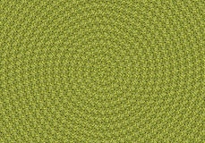 Green leaves spiral background Royalty Free Stock Photo