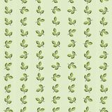Green leaves striped background. Seamless texture pattern of green leaves striped background Stock Photo