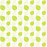Green leaves texture pattern background web theme Royalty Free Stock Image