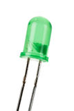 Green LED Stock Image