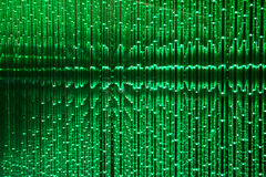Green LED abstract background Stock Images