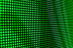 Green LED smd video wall Royalty Free Stock Photos