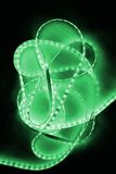 Green led strip Royalty Free Stock Image