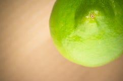 Green lemon close Royalty Free Stock Photography