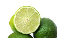 Green lemon Royalty Free Stock Images