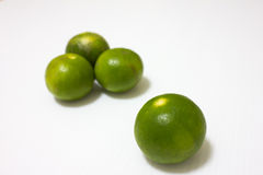 Green lemon fruit Stock Photography