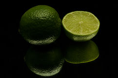 A green lemon Royalty Free Stock Photo