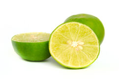 Green lemon limes Royalty Free Stock Images