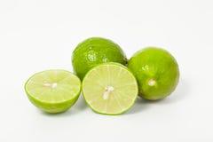 Green lemon Stock Photo